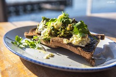 No House For Me! (red stilletto) Tags: mornington morningtonpeninsula morningtonbeach cafe brunch breakfast avocado toast fetacheese parsley herb dill herbs oliveoil