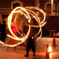 ANSH - Challenge8 - Light (Maureen Pierre) Tags: ansh90 scavenger8 light allnewscavengerhunt flaming torch cathedralsquare christchurch newzealand