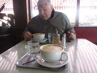 Huge coffees, Das Kaffeehaus, The Mill.