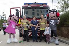 Byrnes visit to Tunbridge Wells Hospital (Kent Fire and Rescue Service) Tags: tunbridge wells woody elsa byrnes hospital partnership iain bradshaw jonny bell community safety public