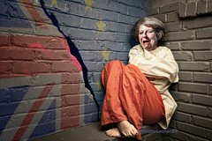 It's #TheresaMay a problem for the #EU or it's a problem for the #UnitedKingdom ?. Maybe , the EU is a problem for the United Kingdom ? #Brexit (Victor Leonardi Blondet) Tags: eu unitedkingdom brexit theresamay