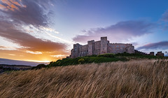 Bamburgh Castle (jor5472) Tags: outside outdoors tripod flickr wideangle scenery landscape scenic historic sky beautiful colour nikon northumberland castle sunset bamburgh