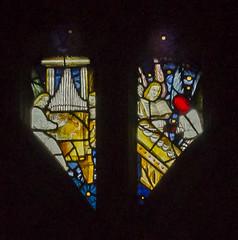 Warwick, St Mary's church, Beauchamp chapel window detail (Jules & Jenny) Tags: stainedglasswindow warwick stmaryschurch