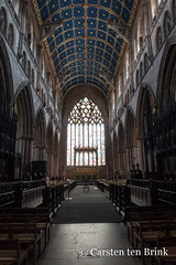 Carlisle  Cathedral (10b travelling / Carsten ten Brink) Tags: carstentenbrink 10btravelling 2018 britain british carlisle carlislecathedral cumbria england english europa europe greatbritain iptcbasic uk cathedral cmtb interior north stainedglass tenbrink