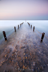 i m m e r s e d . . . (Mark Leader) Tags: hove brighton jetty longexposure colour calm serene tranquilplacid soothing smooth relaxing pastel seascape dreamy