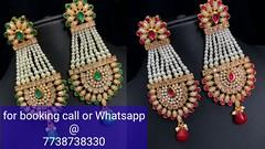 American diamond beautiful earrings (almas.datey) Tags: ifttt youtube nubi collections