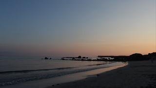Sunset at Spiddal