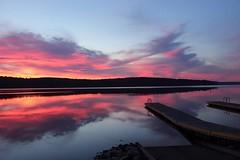 Sunrise (Sam0hsong) Tags: sunrise northcarolina fallslake