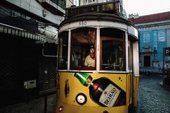 tram driver (ewitsoe) Tags: 4000d canon europe ewitsoe street lisbon portugal test urban summer city warm randowm travel traveloften vacation portugese cityscape