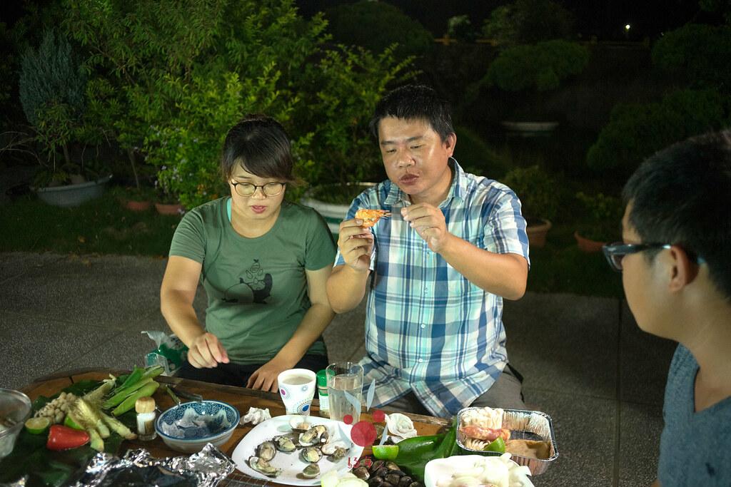 最奢華的中秋烤肉組 海鮮大集合之 龍膽石斑、泰國蝦、蚵、大卷 |小農聯盟23