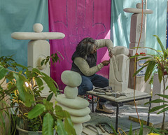 The Carver Eumundi (Bev-lyn) Tags: people carver worker outdoorsmarkets