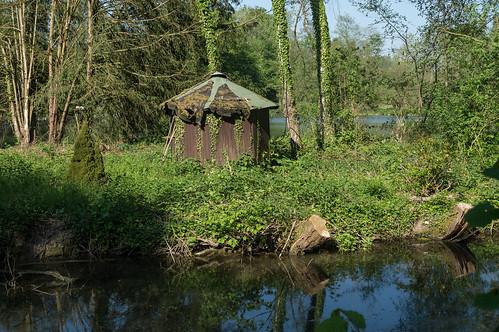 Hut on the pond