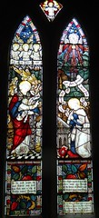 Barby, Northamptonshire (Sheepdog Rex) Tags: stainedglass annunciation stmaryschurch barby