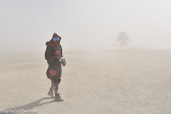 Afternoon Dust Storm (WayneToTheMax) Tags: dust storm desert burning man goggle sun white out sand photographer camera nikon d750