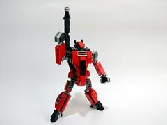 Lego moc - Macross / Robotech VF-1J with super pack (c_s417) Tags: macross lego moc vf robotech mecha mech robot fighter gerwalk japanese cartoon animination toys vf1j 1j