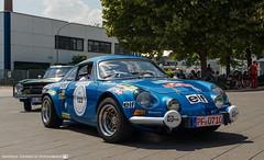 1973 Renault Alpine A110. (andreasheinrich) Tags: heidelberghistoric oldtimerrally historiccar frenchcar alpine alpinea110 germany badenwürttemberg neckarsulm july deutschland historischesfahrzeug französischesfahrzeug nikond7000