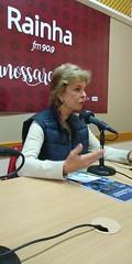 11/09/18 - Entrevista para Rádio Rainha FM em Bento Gonçalves.