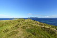 Headland (rcoulstock) Tags: gallanach isleofmuck isleofrum muck rum isle island scotland hebrides innerhebrides highlands blue landscape remote rural sea water
