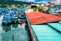 Phu Quoc, Vietnam (Kevin R Thornton) Tags: nightmarket phuquoc landscape travel duongdong nikon port fishingboat boat d90 vietnam harbour transport thànhphốphúquốc tỉnhkiêngiang vn