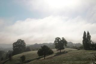 La brume se lève ...