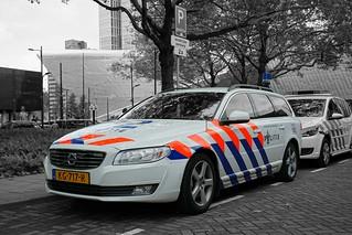 Politie Landelijke Eenheid Dienst Infra Volvo V70