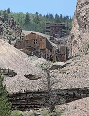 Main Support Building and Tipple at Commodore Mine (Ron Wolf) Tags: creede historic abandoned mine mining structure supportbuilding tailings tipple mineralcounty colorado