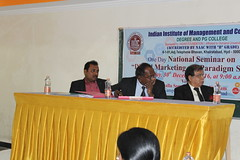 IMG_1468 (D Hari Babu Digital Marketing Trainer) Tags: national seminar digital marketing iimc hyderabad