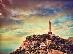 IMG_1729_edit (cnajhar) Tags: sky clouds dusk christtheredeemer riodejaneiro mountain corcovado cristoredentor