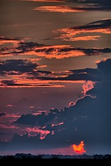 Cloudy Sunsets (Ray Cunningham) Tags: cloudy sunset ogden illinois