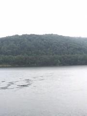 randolph lake 4 (GAWV) Tags: lake fog mountains randolph jennings clouds water railroad island trees rain bridge wv mineral vacation watershed waves ripples rocks