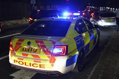 KX14 FGF (S11 AUN) Tags: northamptonshire northants police skoda octavia vrs anpr interceptor traffic car rpu roads policing unit 999 emergency vehicle emopss eastmidlandsoperationalsupportservices kx14fgf
