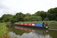 Trent  & Mersey Canal. Bartington, Acton Bridge. (Fred Collins afloat and ashore) Tags: boats anderson