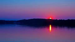 'Purple Haze' (Bob's Digital Eye) Tags: aug2018 blue bobsdigitaleye canon canonefs1855mmf3556isll flicker flickr laquintaessenza lake lakesunset reflection silhouette smokepollution sun sunset sunsetsoverwater t3i water