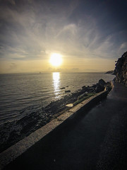 Sunset over the Foyle (McGaggs) Tags: sun sky sunset sea foyle donegal ireland moville shorewalk walk ocean seaside sunny blue yellow clouds water sealife skyporn skylovers irland goprohero gopro wildatlanticway inishowen ulster