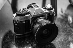 Canon AE-1 PROGRAM & Canon FD 20mm (Claudio Arriens) Tags: canon 35mm canonae1program canonfd bw pb canoneos40d canonef40mmf28 vintage camera canonfd20mm fd