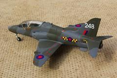 Airfix 1.72 Hawk T.1A XX248-1 (jonf45 - 4 million views -Thank you) Tags: xx248 248 airfix 172 bae hawk t1a 63 squadron raf chivenor devon 1988