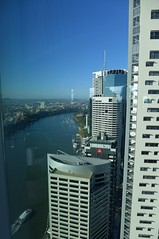 Brisbane, seen from floor 32, 480 Queen St (tanetahi) Tags: brisbane city highrise tower towerblocks officeblocks cbd citycentre cityscape view panorama urban queensland australia