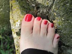 Nina Ultra Pro   Cranberri (markrudolph203) Tags: gay homosexual dude guy man male nail nails toe toes toenail toenails paint painted color colored enamel nina ultra pro cranberri