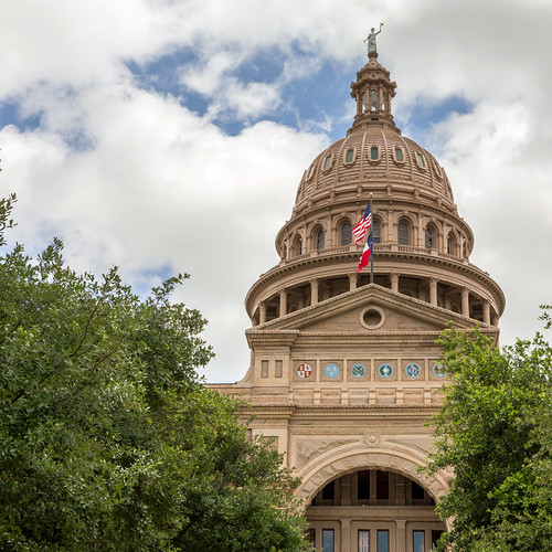 Texas State Capitol (Front, Square Crop) #jcutrer