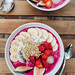 Dragon fruit breakfast bowl