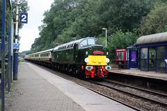"D213 ""Andania"", Pleasington 27-08-18 (Tin Wis Vin) Tags: d213 andania 40013 class40 whistler railtour pleasington"