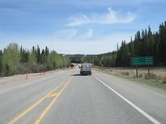 Only 305 clicks (i.e. kilometers) left until we arrive in Edmonton (jimbob_malone) Tags: 2018 highway16 alberta