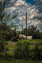 Old Barn (justenoughfocus) Tags: luminar macphun sonyalpha clouds green house bowlinggreen florida unitedstates us