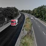 Neue Fahrbahndecke bei Moers - Krefeld thumbnail