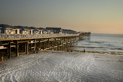 (Jenn Sarti) Tags: beach pacific pacificocean sunset ca california sandiego missionbeach