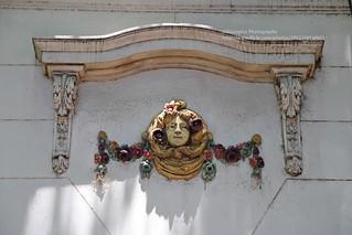 Buenos Aires, Palermo, facade decoration