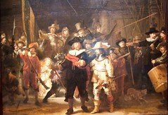 Night watch - Rembrandt van Rijn (Val in Sydney) Tags: museum amsterdam rijksmuseum