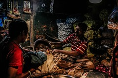 Night Life in a vegetable market. (prateeksahoo9) Tags: ngc nightlife streetphotography streetshot streetscenes streetsofindia street streetnight streetphotographyinternational