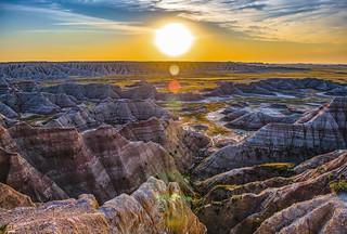 Sunrise Of Badlands   -4829-08-18-