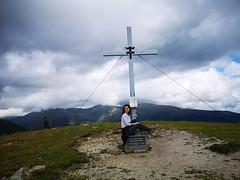 20180908Steiermark Rosenkogel07v16 Gipfel AngelikaMy (rerednaw_at) Tags: steiermark rosenkogel seckaueralpen gipfelkreuz angelikamy